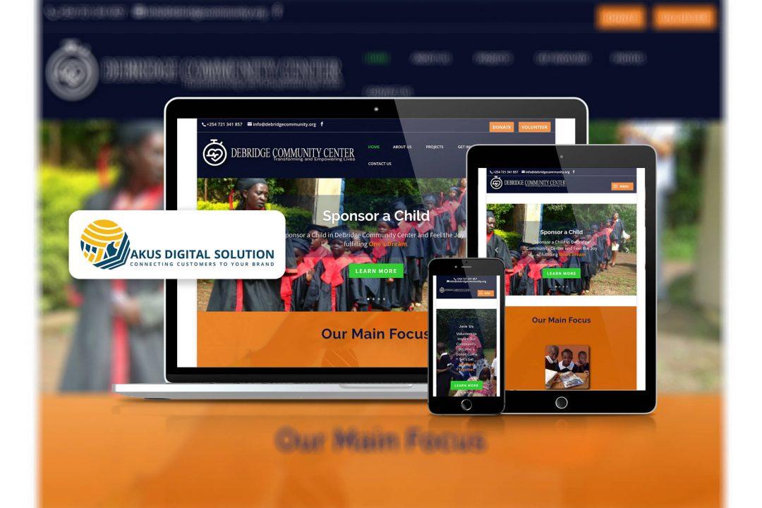 debridge website by akus.co.ke