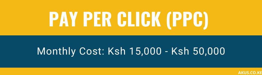 An image of PPC pricing in Kenya by Akus Digital Solution