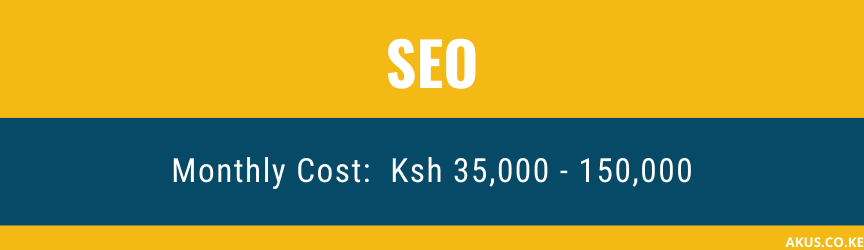 An Image Showing SEO SERVICES PRICES in Kenya By Akus Digital Solution